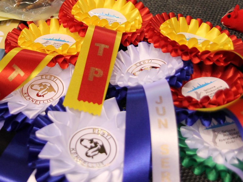Rosettes from two countries